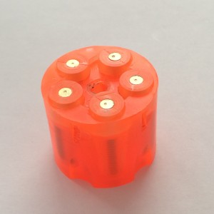Cylinder with PU inserts