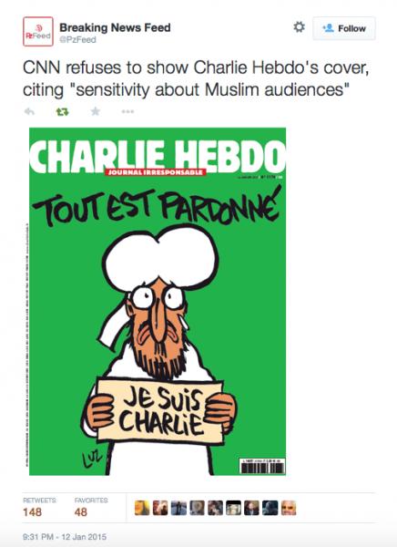 Charlie Hebdo New Cover
