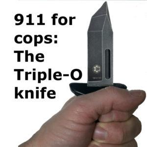 Triple-O knife