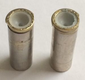 Trimmed brass